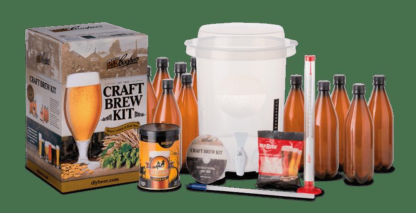 Brygga öl från kit eller med egen utrustning