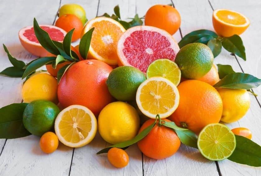 Lista på de 15 mest C-vitaminrika livsmedlen